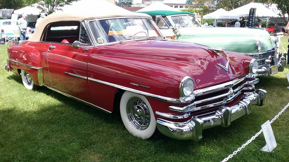 AJ's Car of the Day 1953 Chrysler New Yorker Deluxe Convertible