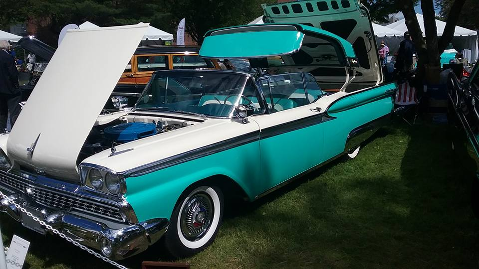 AJ's Car of the Day 1959 Ford Fairlane Galaxie Skyliner
