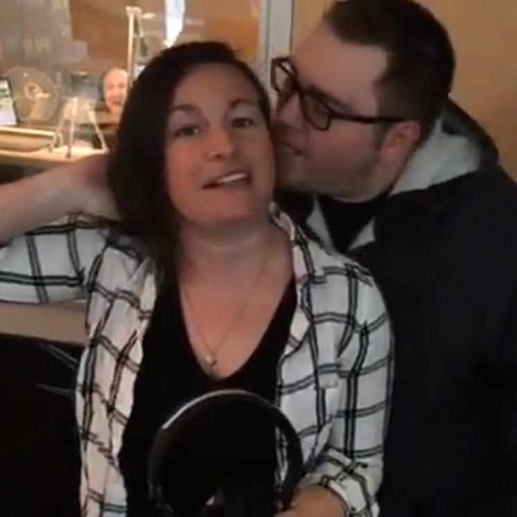 Chaz and AJ Video – Stoshball Licks Pam's Ear
