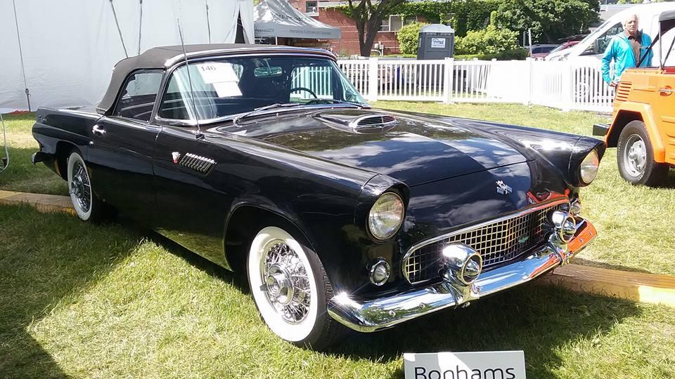 AJ's Car of the Day 1955 Ford Thunderbird