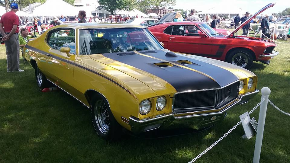 AJ's Car of the Day 1971 Buick GSX Stage1 Coupe
