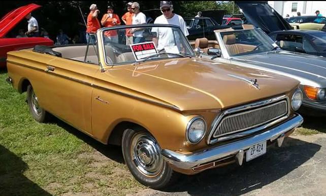AJ's Car of the Day: 1963 Rambler American Convertible