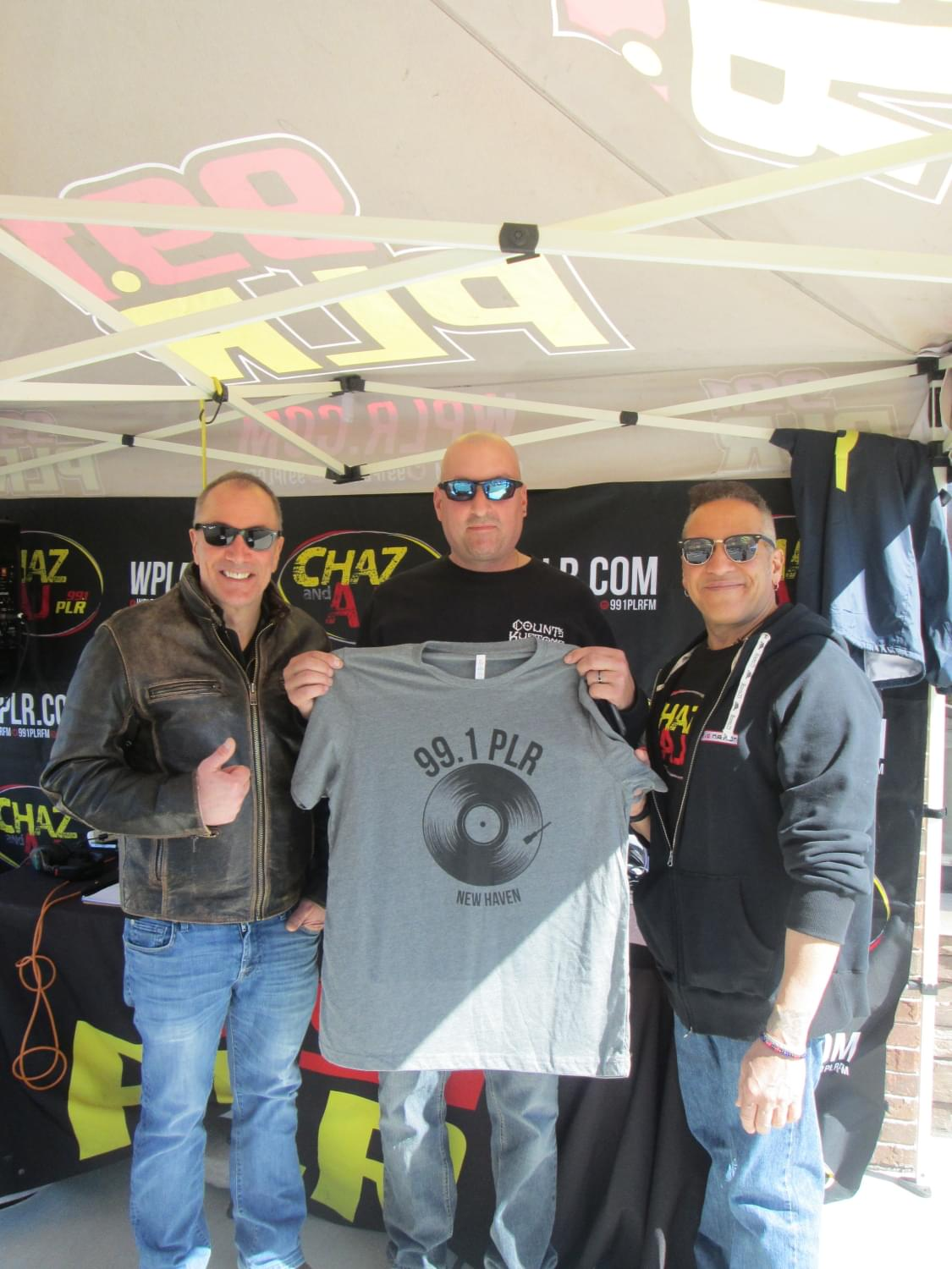 Chaz and AJ at Sleep Number in Milford