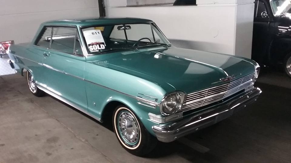 AJ's Car of the Day: 1962 Chevrolet Chevy II 2-door Hardtop Coupe
