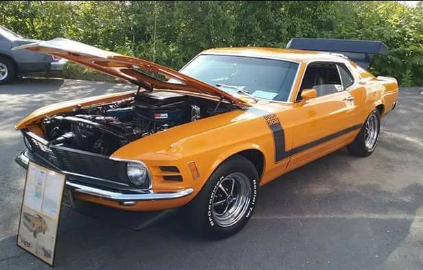 """AJ's Car of the Day: 1970 Ford Mustang """"Boss 302"""" Fastback Coupe"""