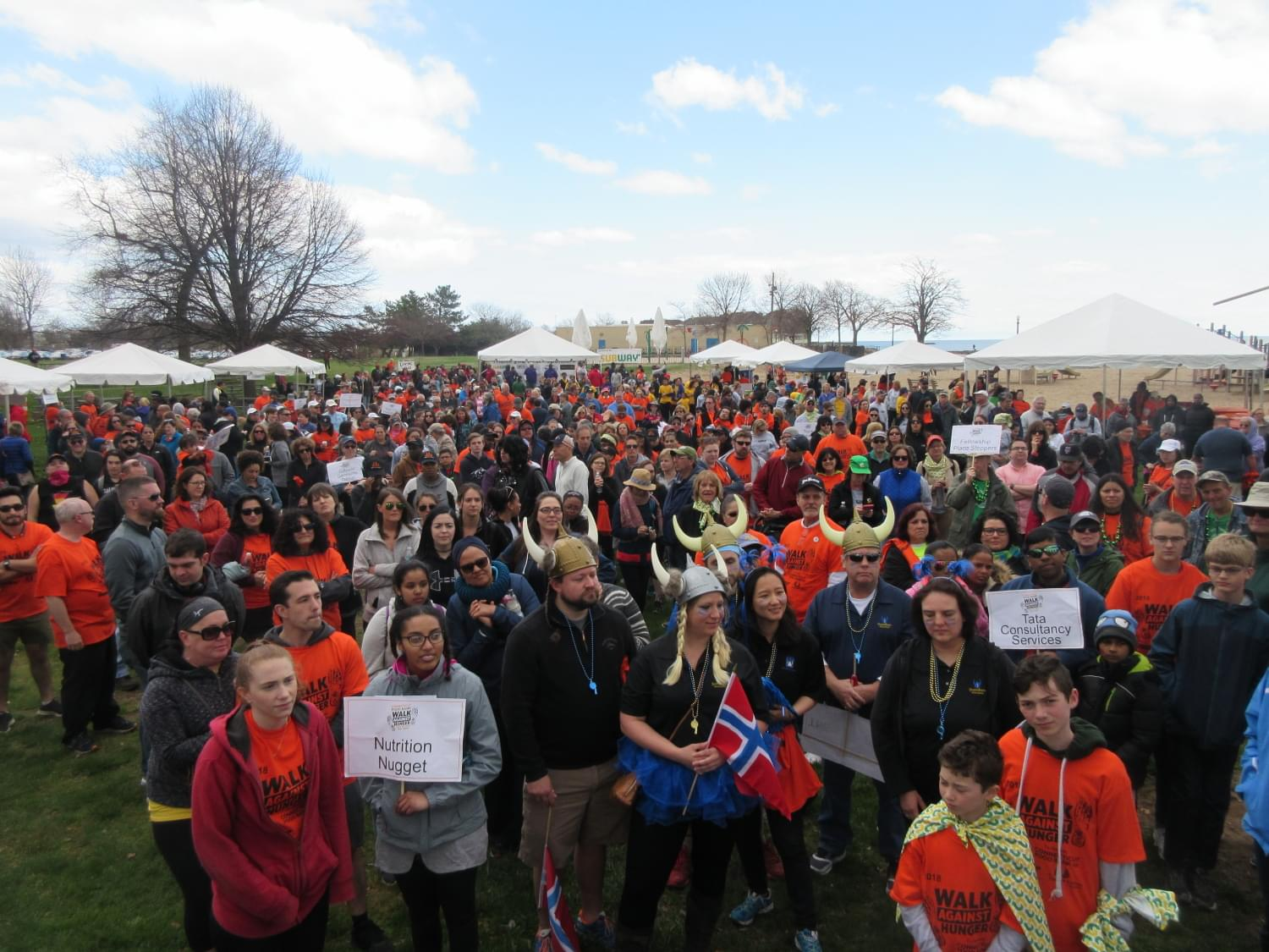 Walk for Hunger New Haven 2018