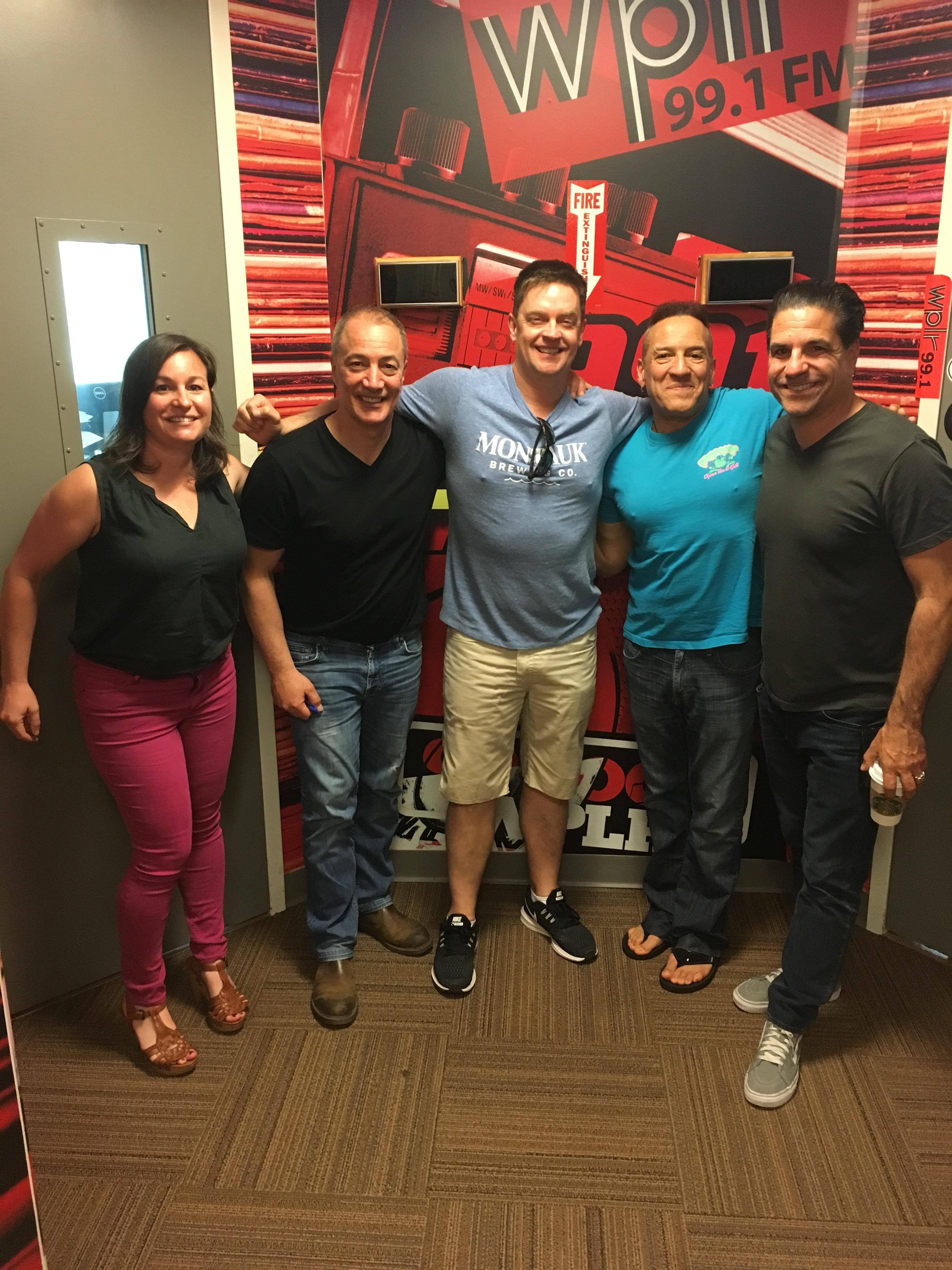 "5/4/18 – Chaz and AJ Podcasts – Jim Breuer Visited ""The Shining"" Hotel, Brent Morin vs. Bon Bon, Miraculous Tumor Removal at Danbury Hospital"
