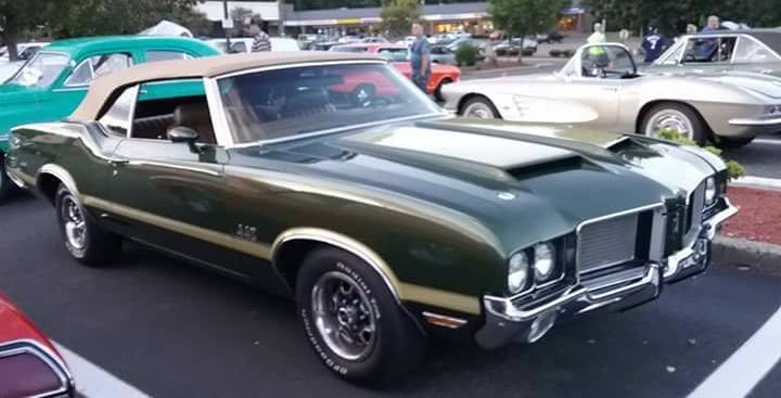 AJ's Car of the Day: 1972 Oldsmobile 4-4-2 Convertible