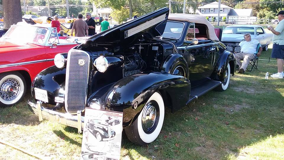 AJ's Car of the Day: 1937 Cadillac Series 6067 Convertible Coupe