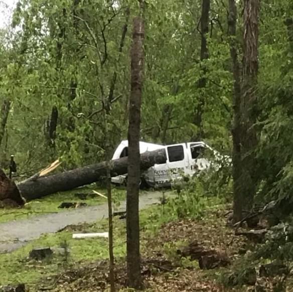 5/16/18 – Chaz and AJ Podcasts – Storm Damage, Trooper Kelly Grant Updates, Danbury Damage
