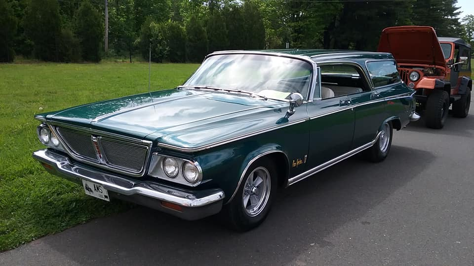 AJ's Car of the Day 1964 Chrysler New Yorker Town & Country Wagon