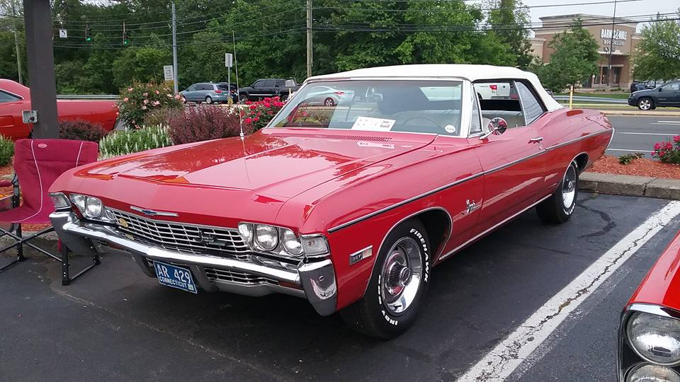 AJ's Car of the Day: 1968 Chevrolet Impala Convertible