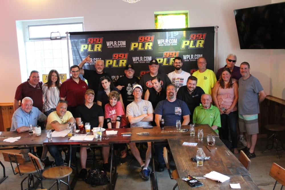 Chaz and AJ Monthly Meal at Brewport June 2018