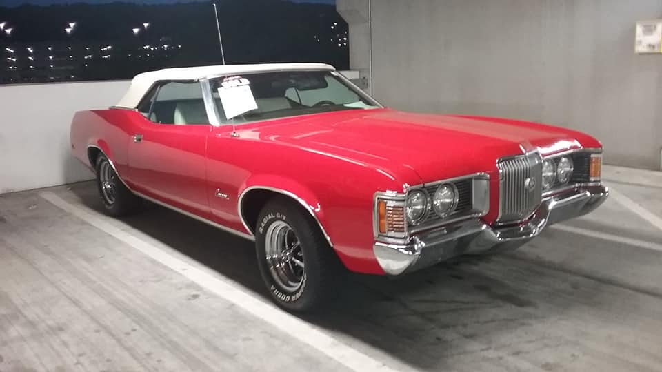 AJ's Car of the Day: 1971 Mercury Cougar Convertible