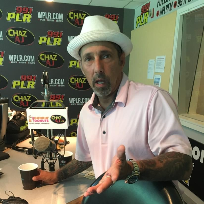 8/24/18 – Chaz and AJ Podcasts – Rich Vos Security Incident, AJ's Sports Report, Paul Flart Fired