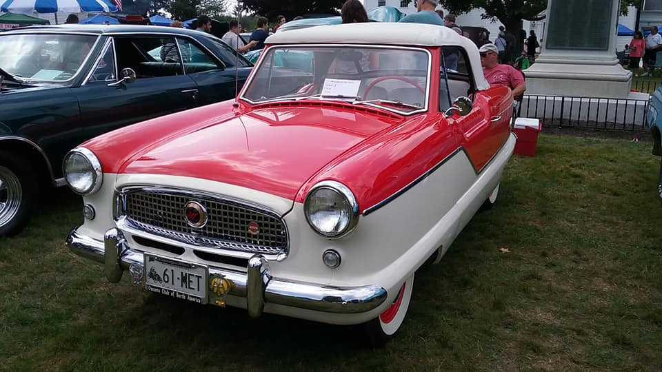 AJ's Car of the Day: 1961 Nash Metropolitan