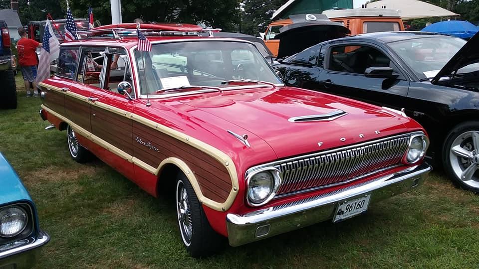 AJ's Car of the Day: 1962 Ford Falcon Squire Wagon