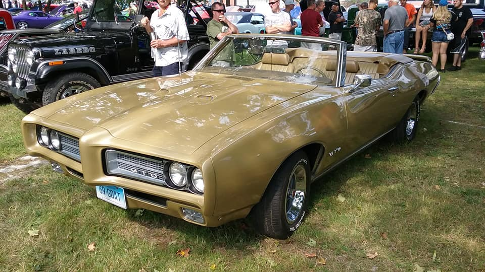 AJ's Car of the Day: 1969 Pontiac GTO Convertible