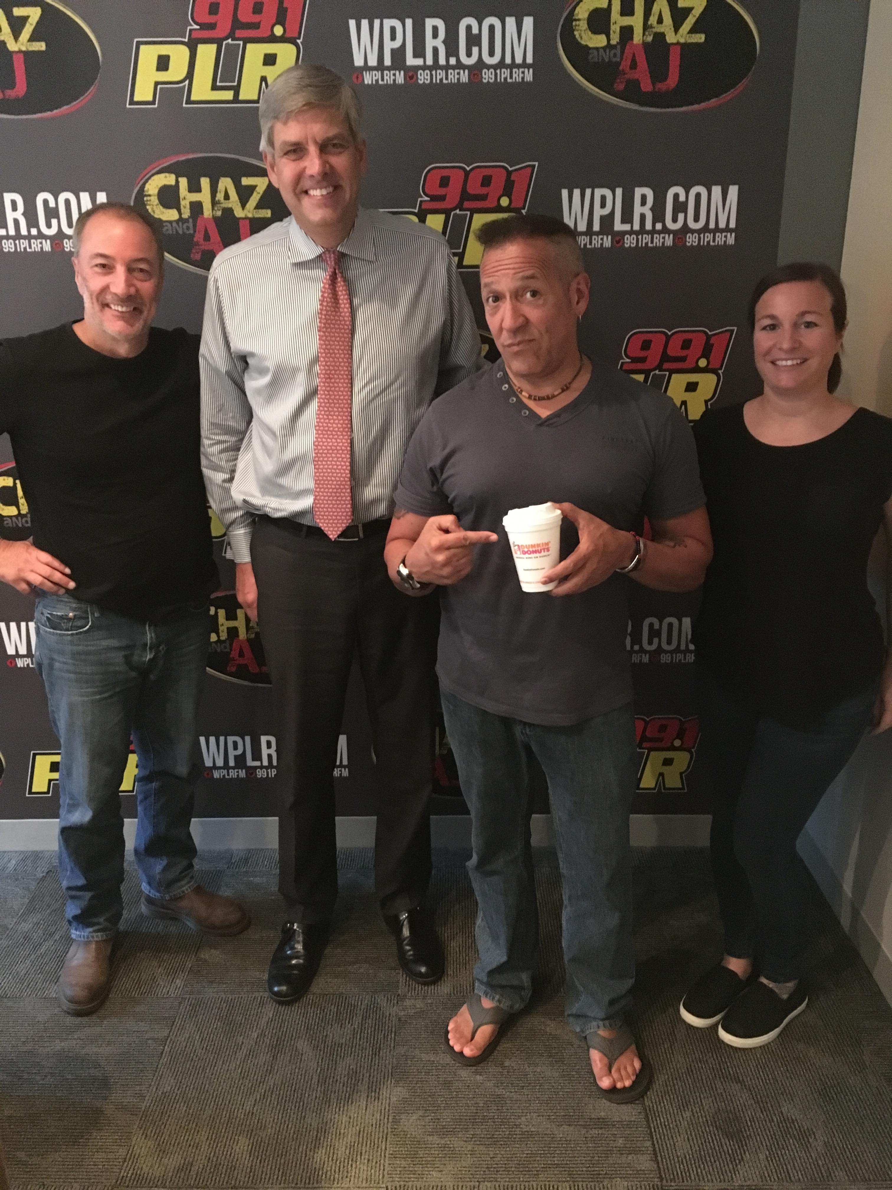 9/26/18 – Chaz and AJ Podcasts – Bob Stefanowski's Income Tax Plan, Flood Rescues, Bad Parenting Moments