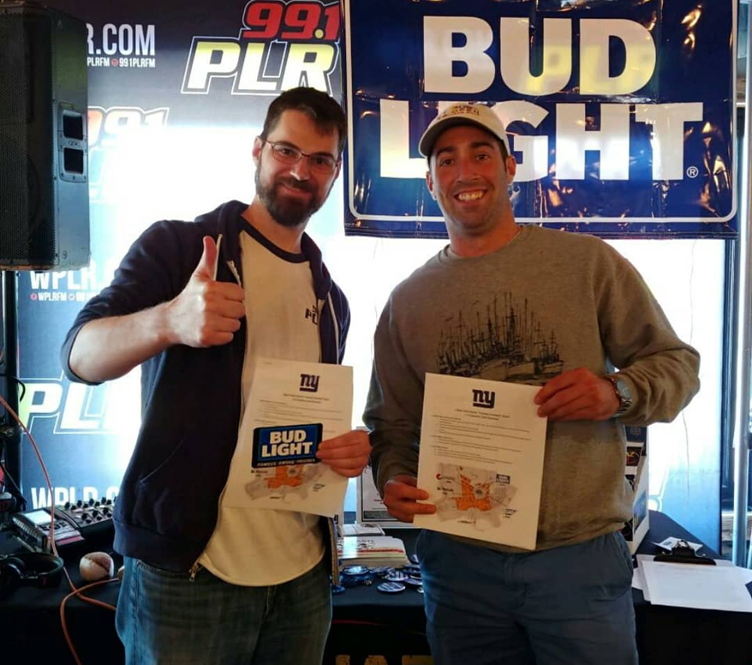 PLR Bud Light Football with Phil at Whiskey Barrel