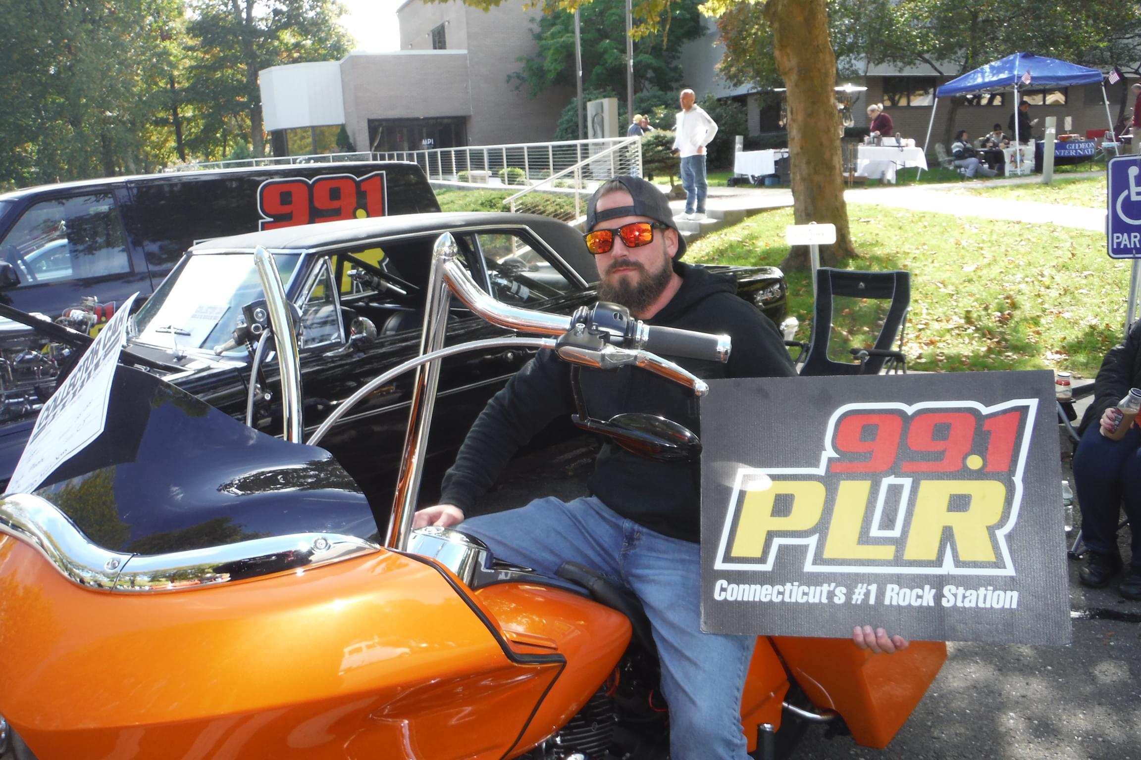 PLR at Seymour Lions Club Car Show