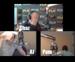 10/22/18 – Chaz and AJ Podcasts – Pam's Throat Weird Noise, Ghost Stories, Street Pete's Court Audio