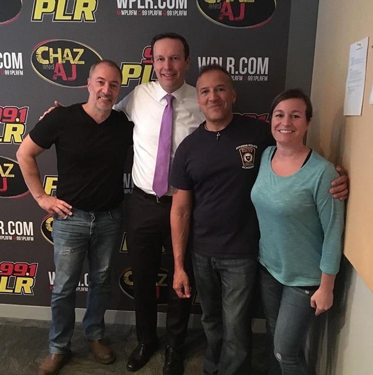 10/25/18 – Chaz and AJ Podcasts – Chris Murphy, Carmine Appice, Jimmy Koplik