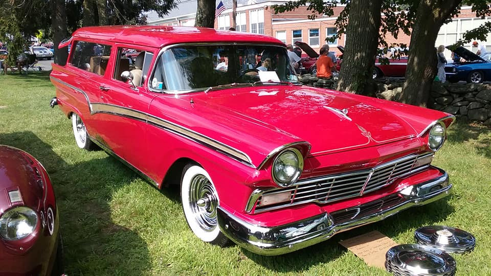 AJ's Car of the Day: 1957 Ford 2-Door Ranch Wagon