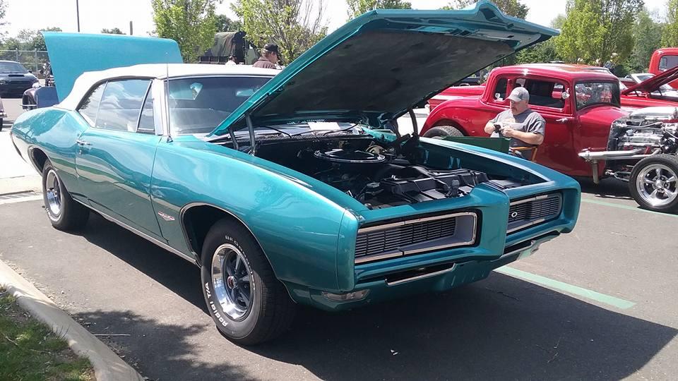 AJ's Car of the Day: 1968 Pontiac GTO Convertible (w/Endura Nose)
