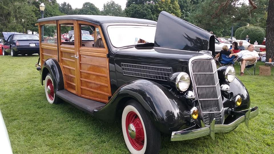 "AJ's Car of the Day: 1935 Ford ""Model B"" Woody Wagon"