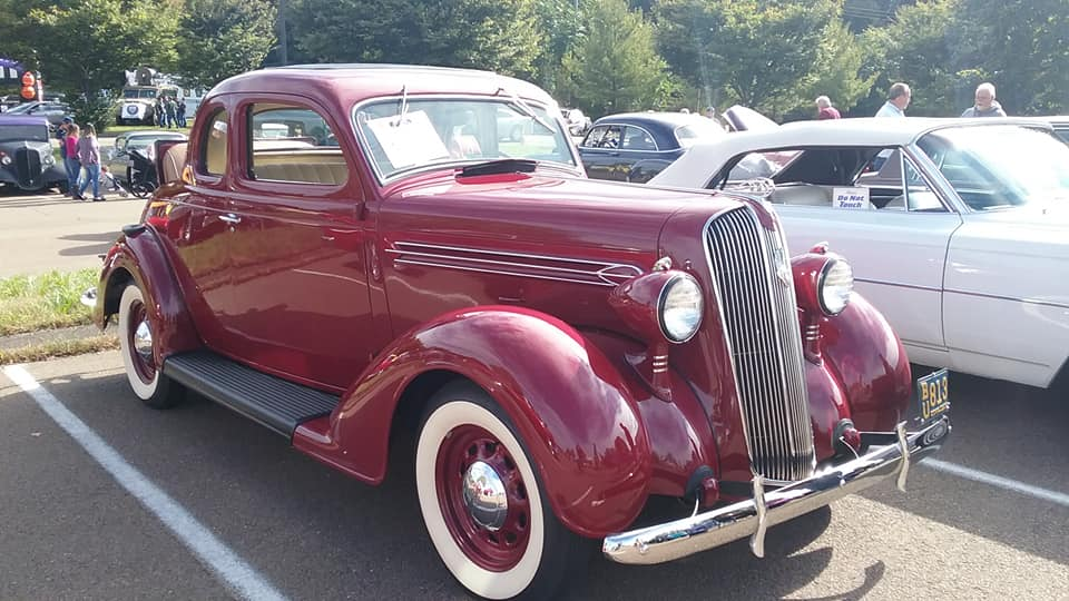 AJ's Car of the Day: 1936 Plymouth P2 Business Coupe