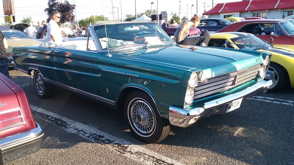 AJ's Car of the Day: 1965 Mercury Comet Caliente' Convertible