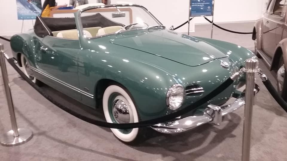 AJ's Car of the Day: 1959 Volkswagen Karmann Ghia Typ14 Convertible
