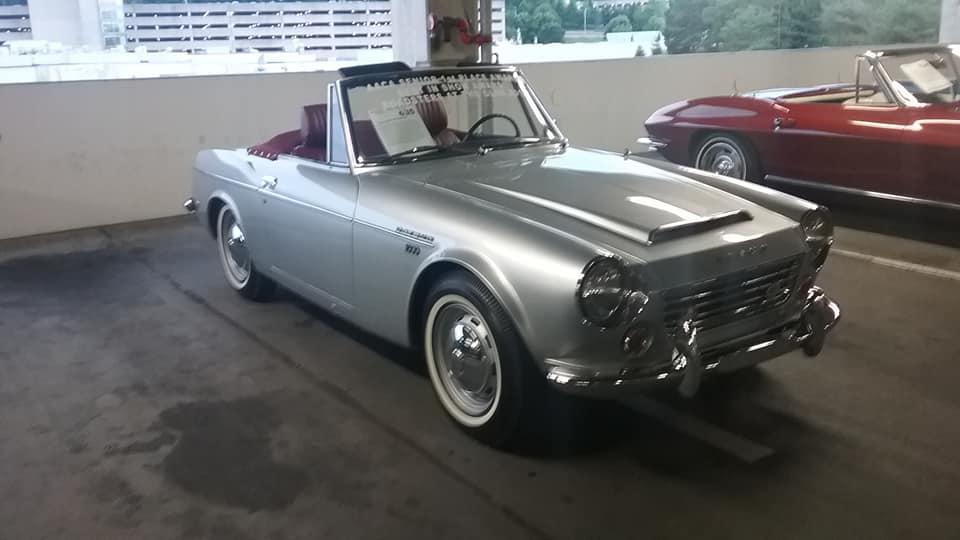AJ's Car of the Day: 1966 Datsun 1600 Roadster