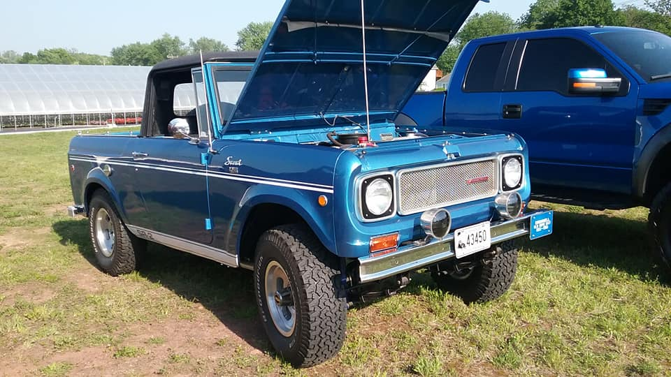 AJ's Car ( Or in this case, Truck ) of the Day: 1969 International Harvester Scout