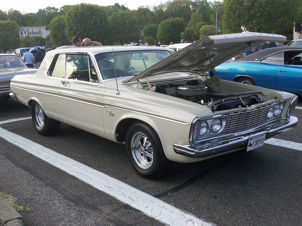 AJ's Car of the Day: 1963 Plymouth Fury 2-Door Hardtop