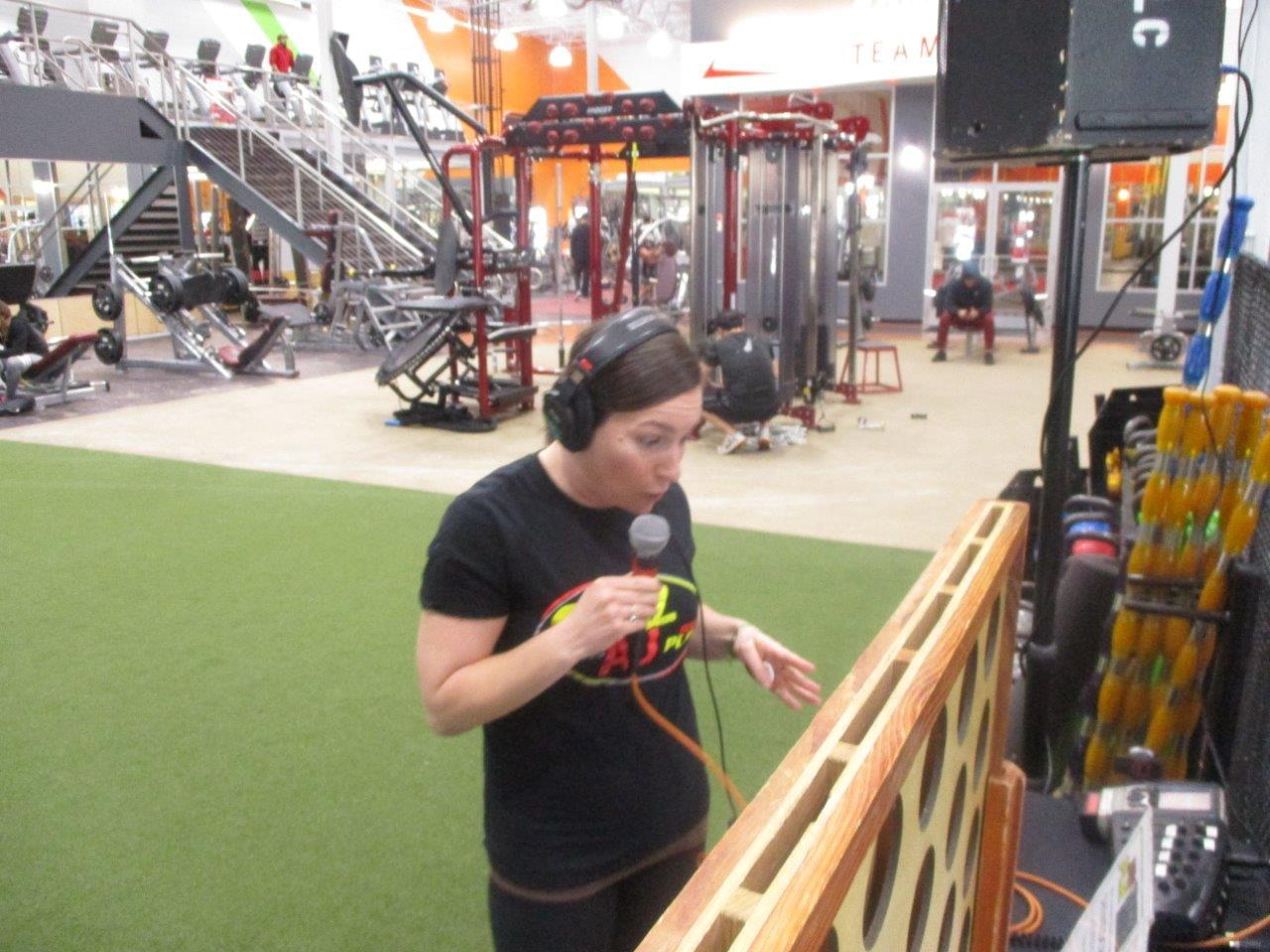Pam at The Edge Fitness Clubs in Fairfield
