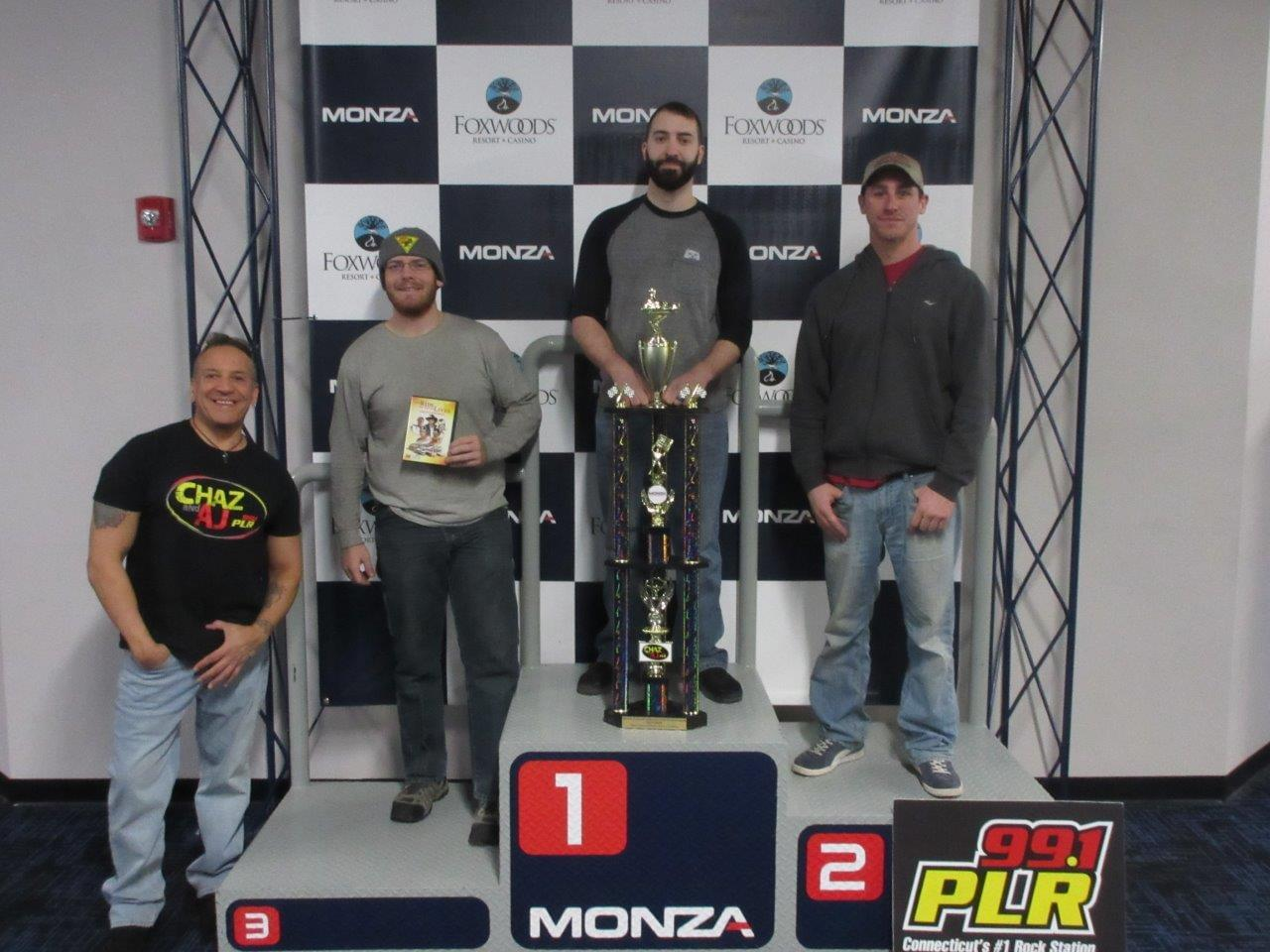Chaz & AJ Go Kart 500 at Monza World Class Karting at Foxwoods