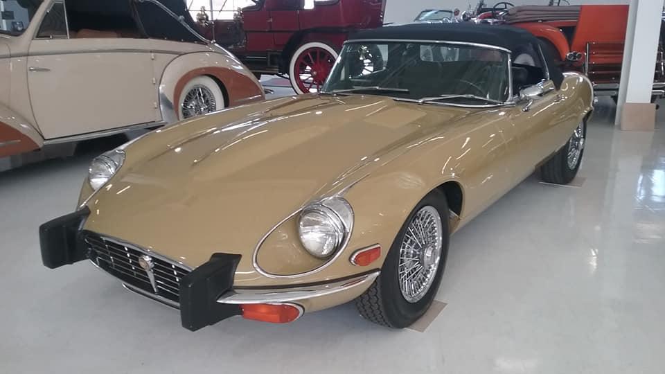AJ's Car of the Day: 1974 Jaguar XKE Series III OTS Convertible