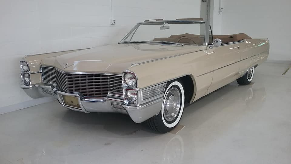 AJ's Car of the Day: 1965 Cadillac DeVille Convertible
