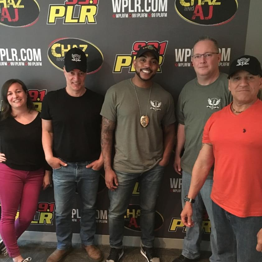 On Today's Chaz & AJ: Win Aerosmith Tickets, East Haven PD In Studio With Stories