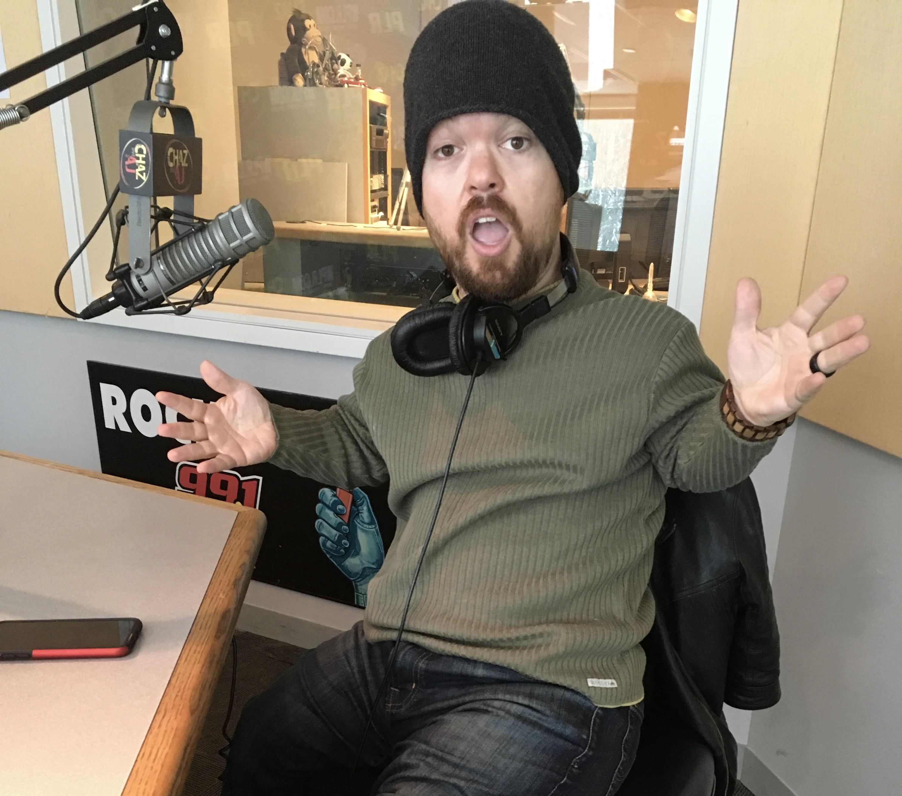 Friday, March 1: Comedian Brad Williams Stops By And Why Weren't We Included On TV's Radio DJ Week?!?