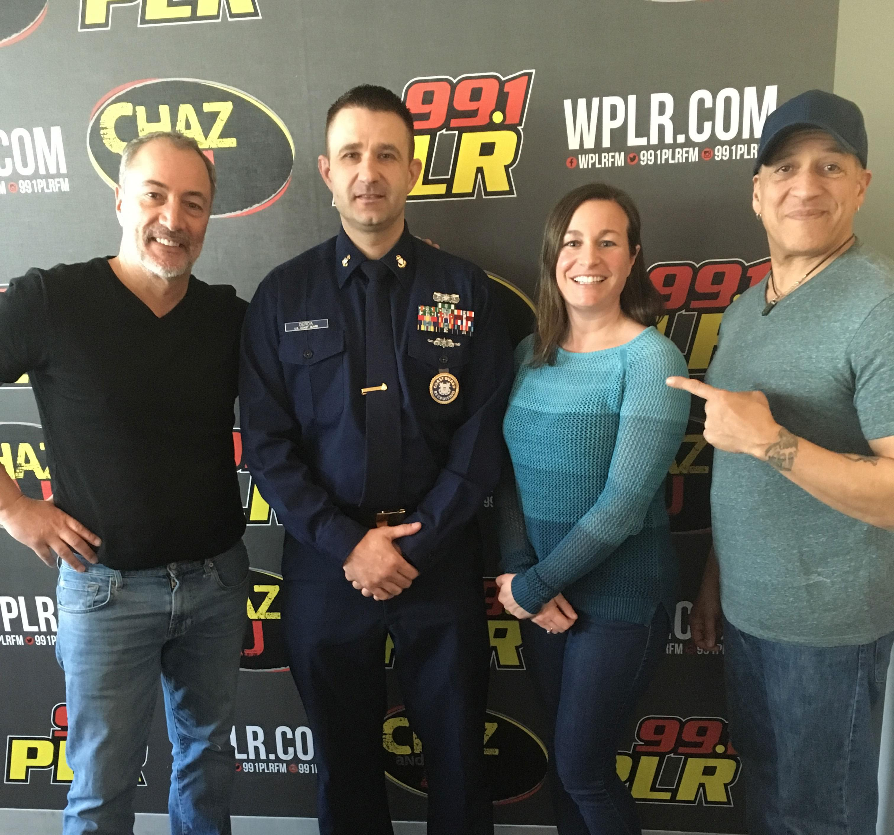 Wednesday, March 13: Naked And Afraid's Shane Lewis In Studio And Pam's Coast Guard Boot Camp