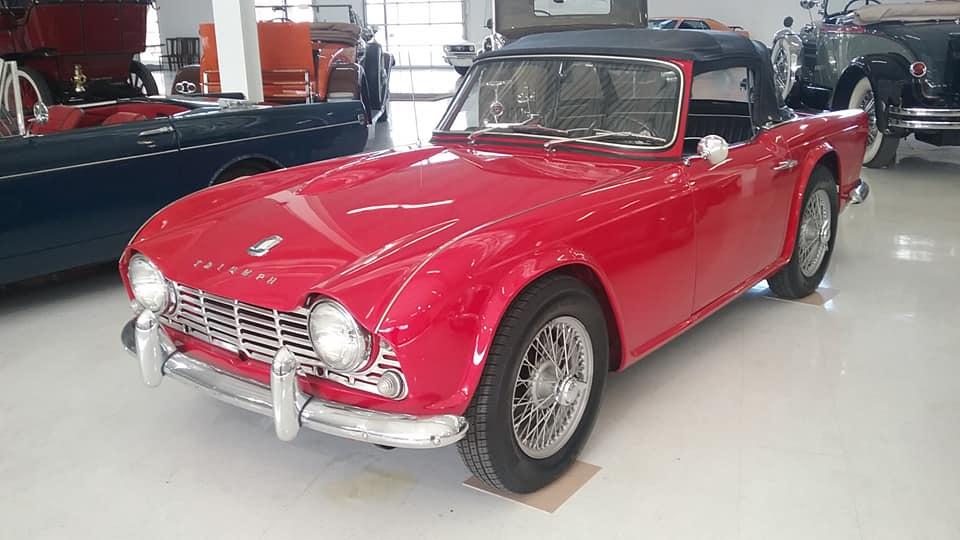 AJ's Car of the Day: 1962 Triumph TR4