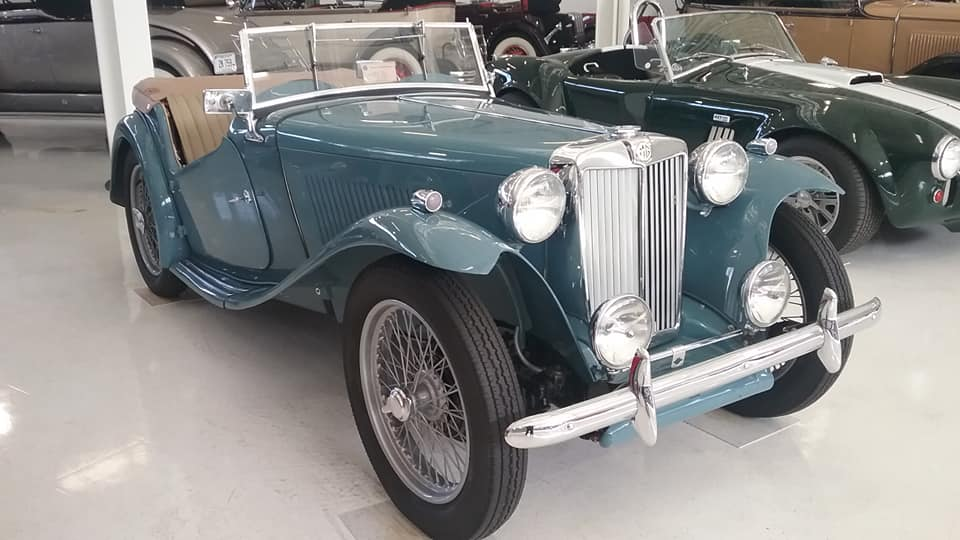 AJ's Car of the Day: 1949 MG TC EXC Roadster