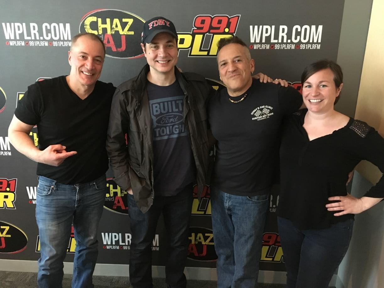 On Today's Chaz & AJ: Actor/Comedian Adam Ferrara In Studio, News About Ozzy, Adam Sandler Tickets