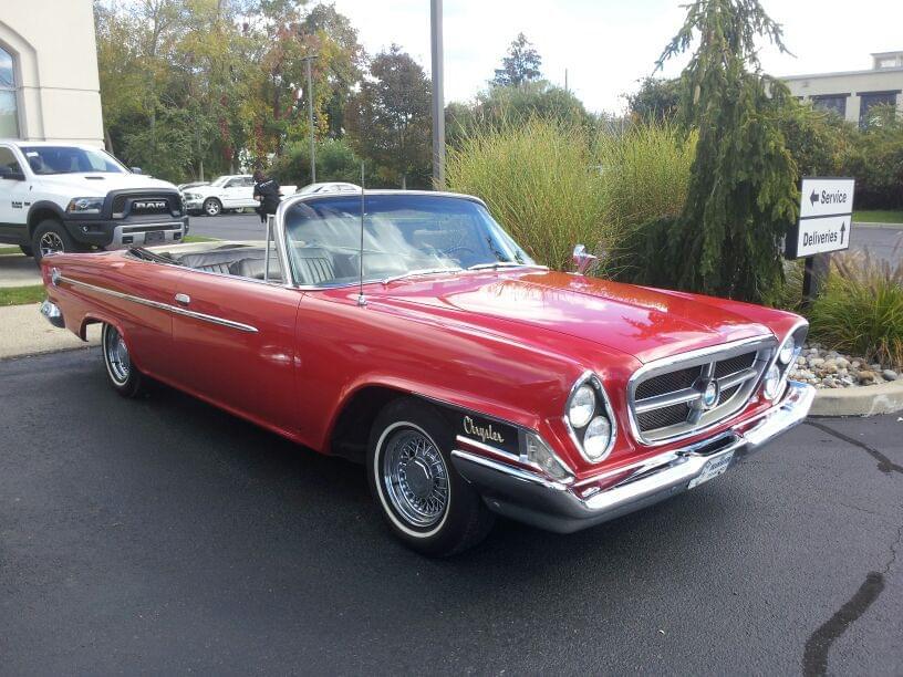 AJ's Car of the Day: 1962 Chrysler 300H Convertible