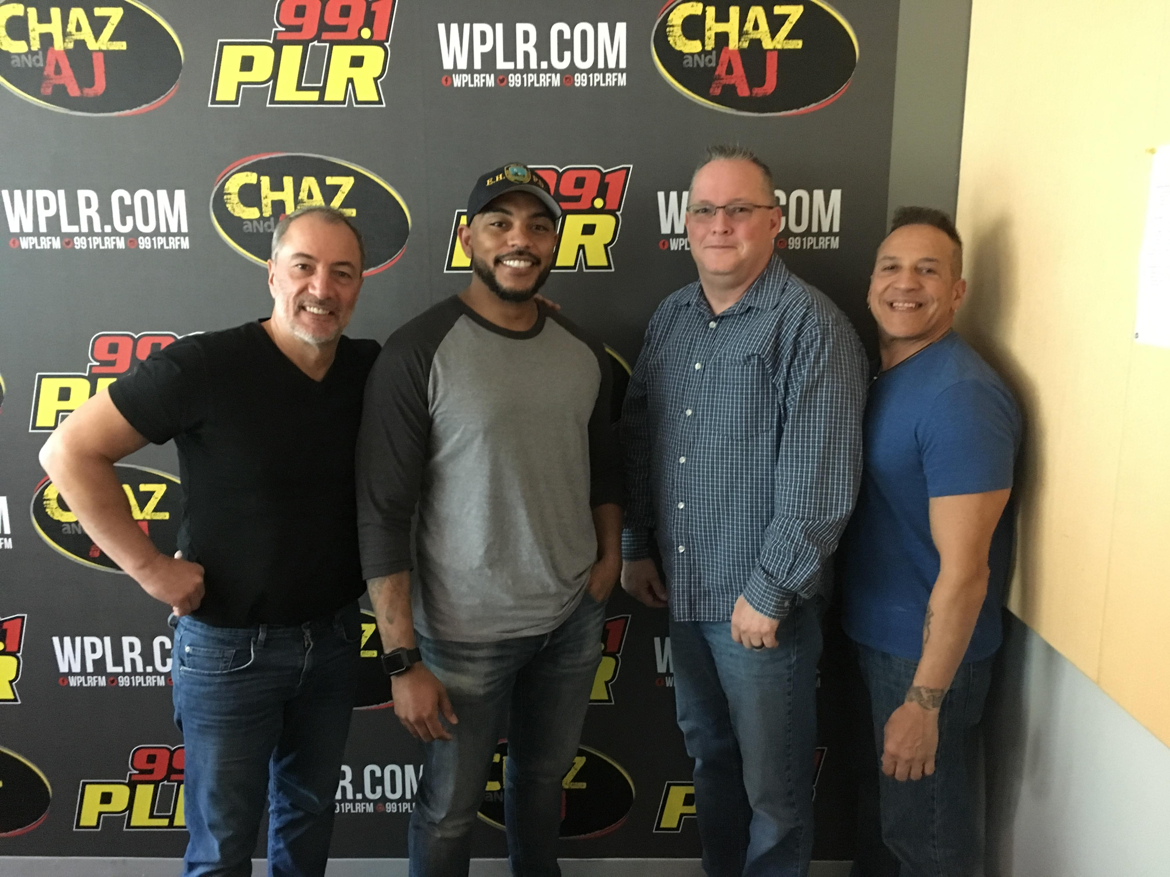 Thursday, April 25: Celebs Leaving Connecticut, The East Haven PD Stops By, NFL Draft, And More!