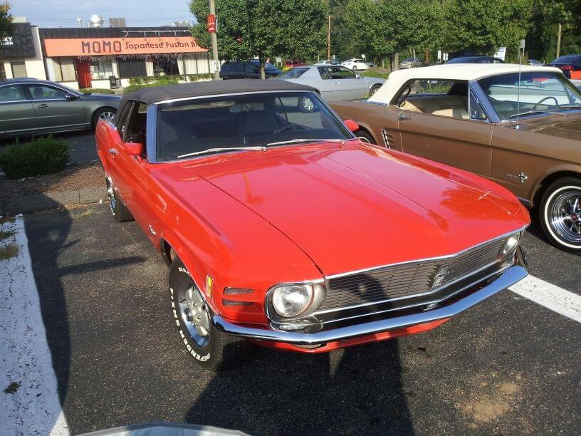 AJ's Car of the Day: 1970 Ford Mustang Convertible
