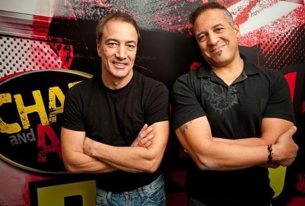 Today on Chaz & AJ: Paul Mecurio in Studio!!